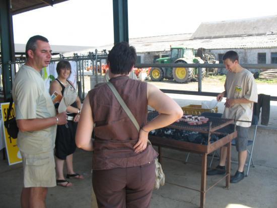 Barbecue produits de la ferme